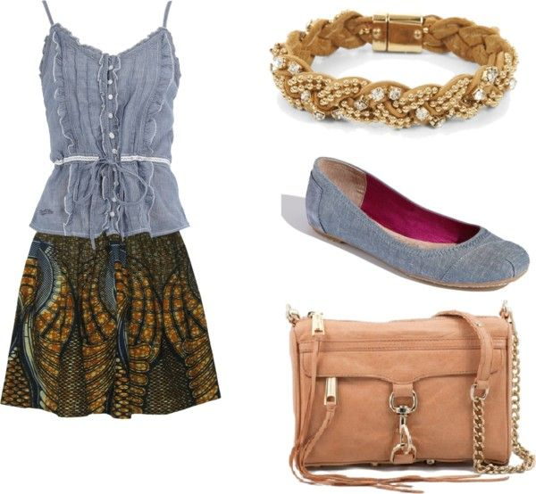 Simple Spring Style, created by alishaaphillips on Polyvore