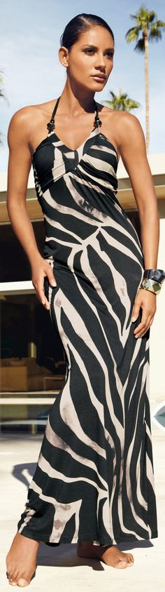 black maxi dress @roressclothes closet ideas #women fashion outfit #clothing style apparel