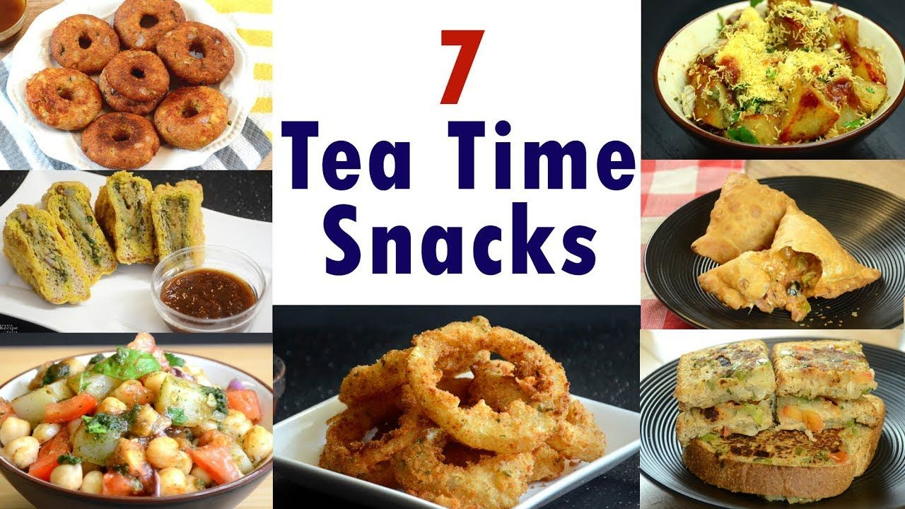 8 Snack Recipes  8 Tea Time Indian Snacks - YouTube  Quick