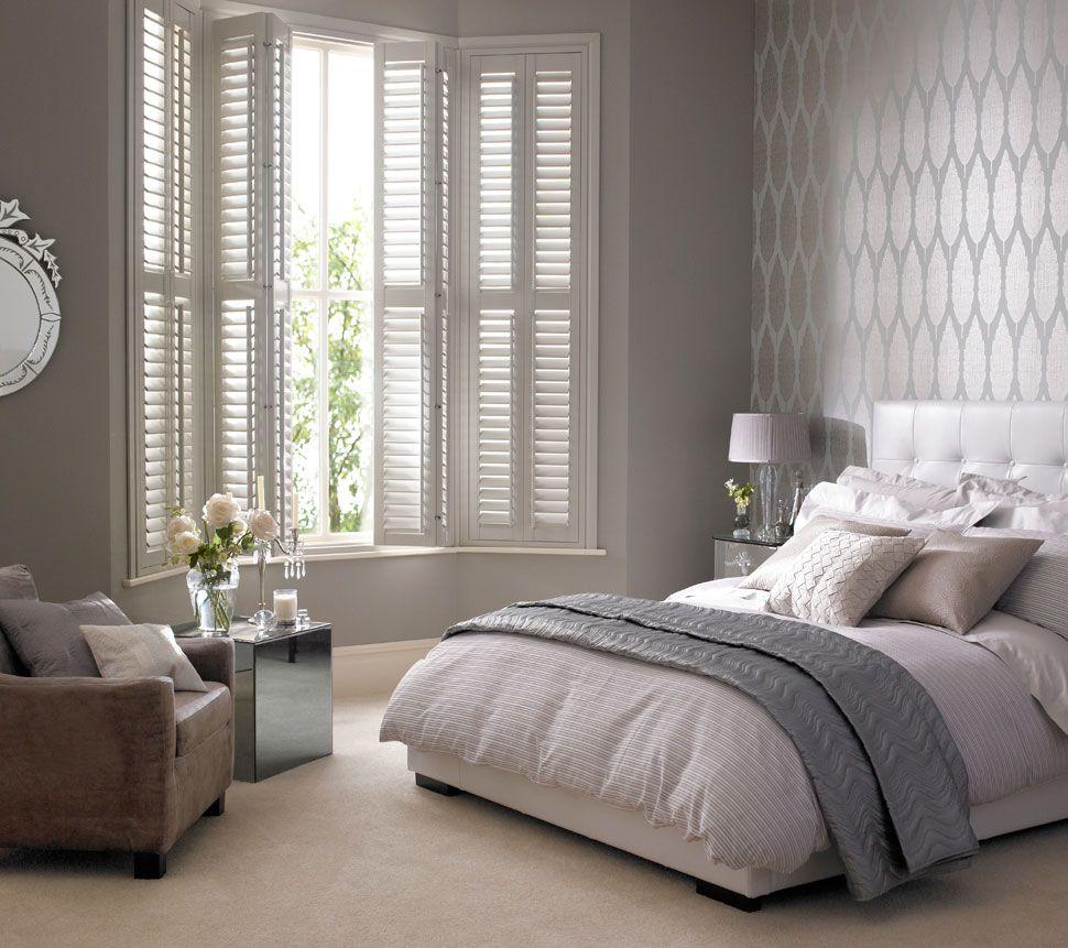 Shutters On Bay Windows Home Home Bedroom Bedroom Inspirations