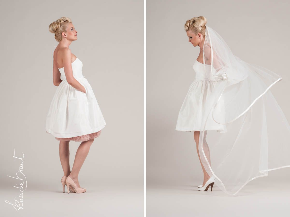 Petticoat-Kleid im 50er Jahre Stil | Brautmode