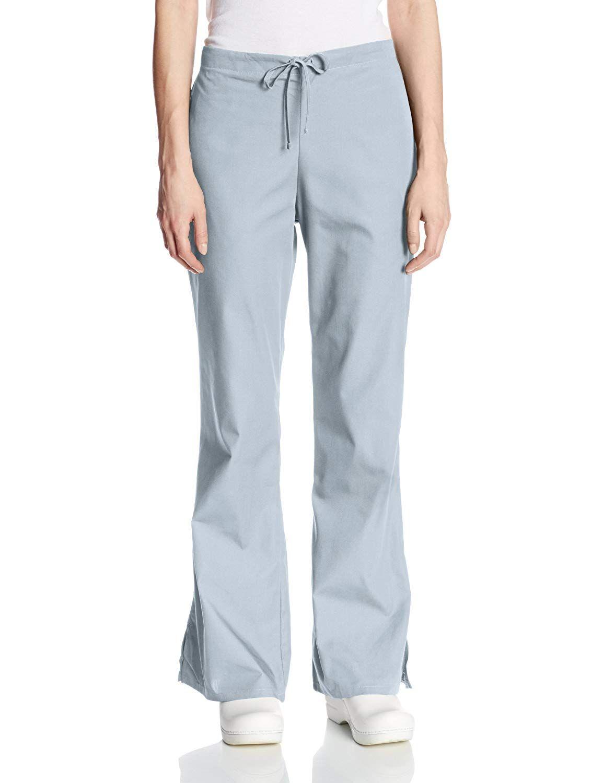 2e44e9ea393 Amazon.com: Cherokee Women's Fashionable Flare-Leg Drawstring Pant: Medical  Scrubs Pants: Clothing