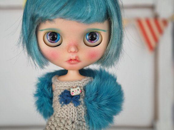"""Blythe Custom OOAK por otra Blythe: """"Skye"""""""