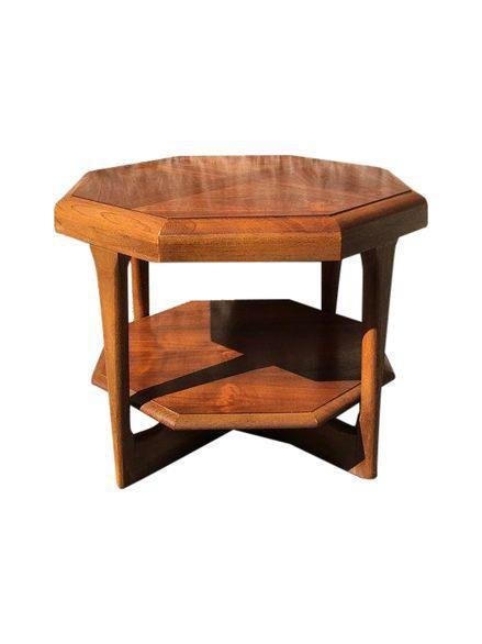 1960s Lane Octagon Coffee Table on Chairishcom Retro living room