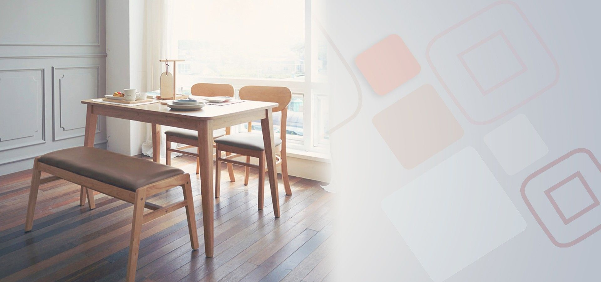 Peachy Kokoro Scandinavian Compact 4 Seater Dining Set A 1150 Interior Design Ideas Gentotryabchikinfo