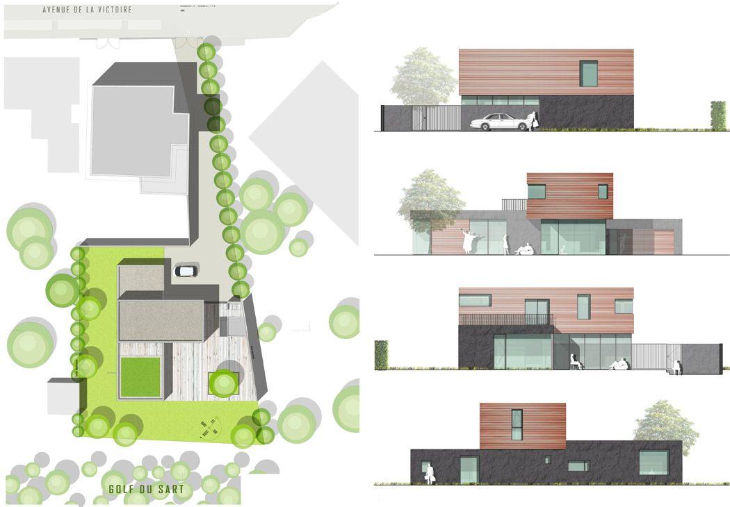 Plan de maison d architecte excellent awesome logiciel for Architecture villa moderne gratuit