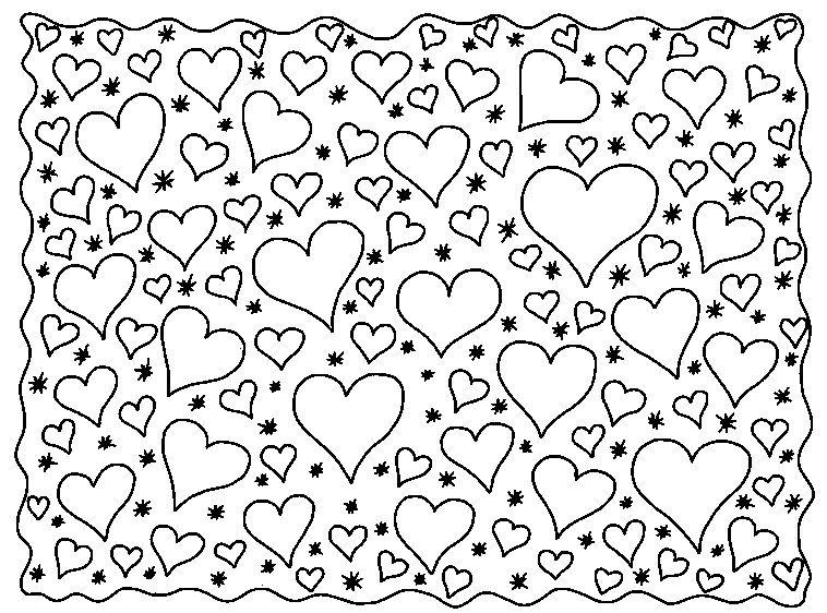 Herzen | malvorlagen | Pinterest | Ausmalbilder, Muttertag und Prickeln