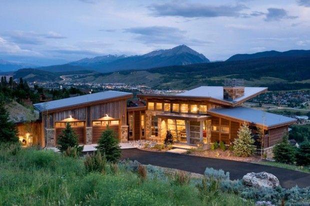 25 Amazing Mountain Houses Mountain Home Exterior Rustic Houses Exterior House Exterior