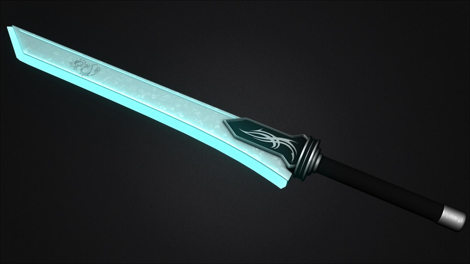 Futuristic Sword By Mbp1225 On Deviantart Fantasy Sword Weapon Concept Art Sword