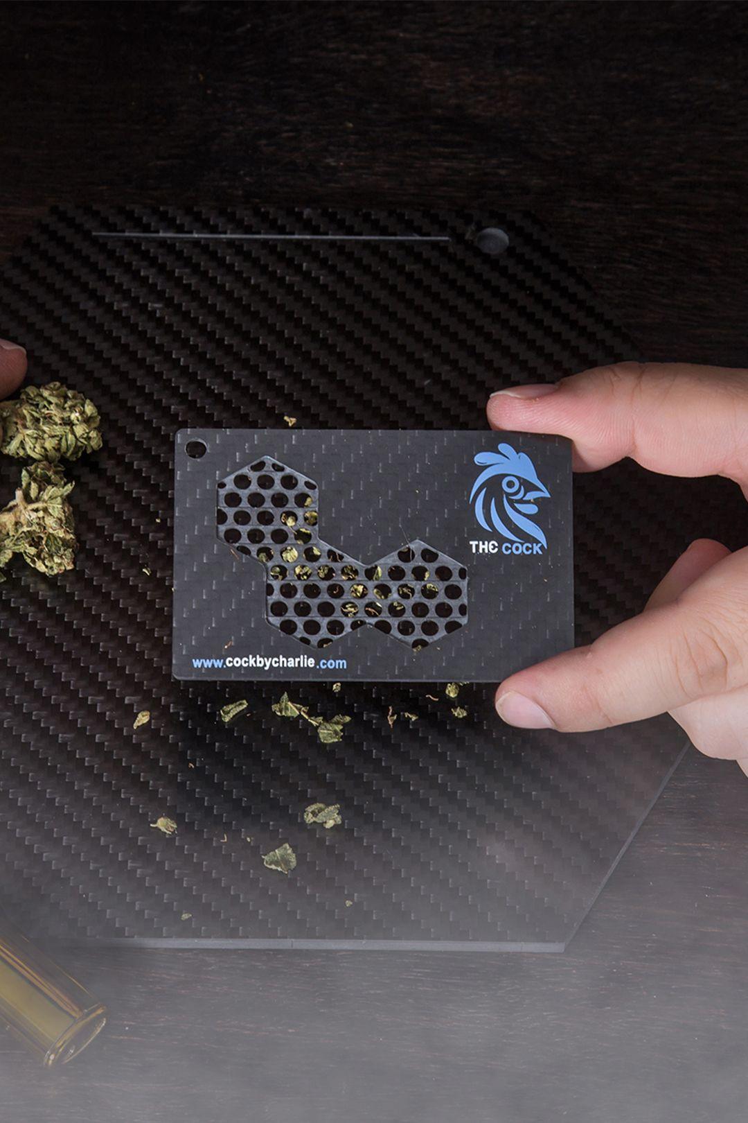 Carbon Fiber Herb Grinder Card Carbon Carbon Fiber Rings Carbon Fiber