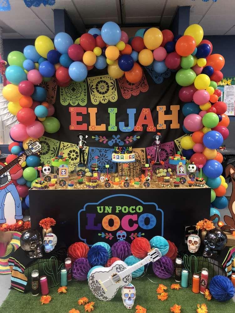 Coco Birthday Party Ideas In 2019 Disney Coco Birthday
