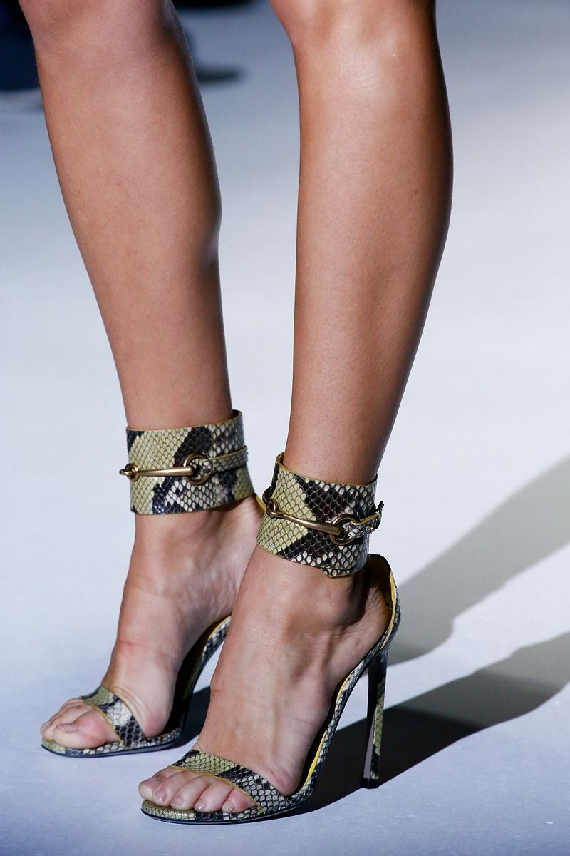 Gucci Spring 2013 RTW snakeskin shoes #mfw ~