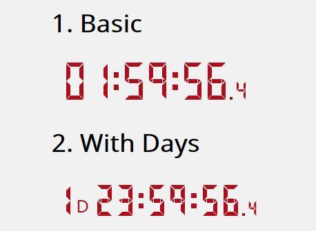 Easy Digital Countdown Clock Plugin With jQuery - countdown