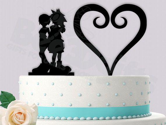 Final Fantasy Wedding Cake Topper