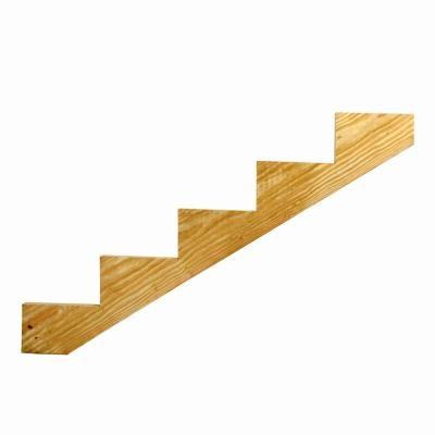 Best 6 Step Pressure Treated Cedar Tone Pine Stair Stringer 640 x 480