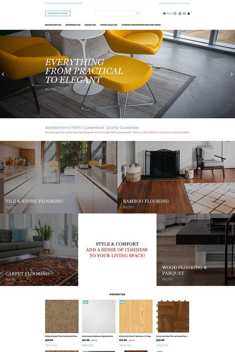 Flooring Store Motocms Ecommerce Template Flooring Motocms Ecommerce Ecommercewebsite Ecommerce Template Flooring Store Web Design Software