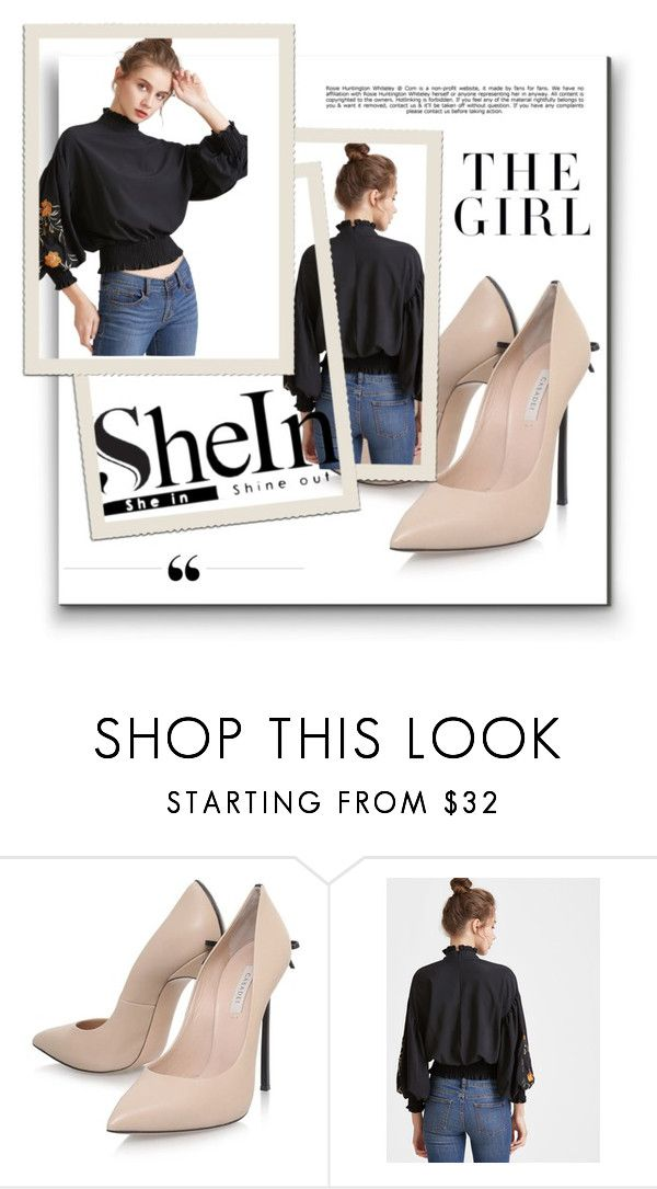 """shein"" by iiii-iv ❤ liked on Polyvore featuring Casadei, WithChic, Whiteley and Kershaw"