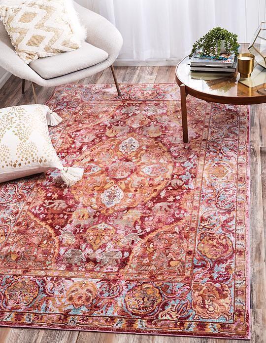 Red Aqua Area Rug | Living Room | Pinterest | Aqua, Living rooms and ...