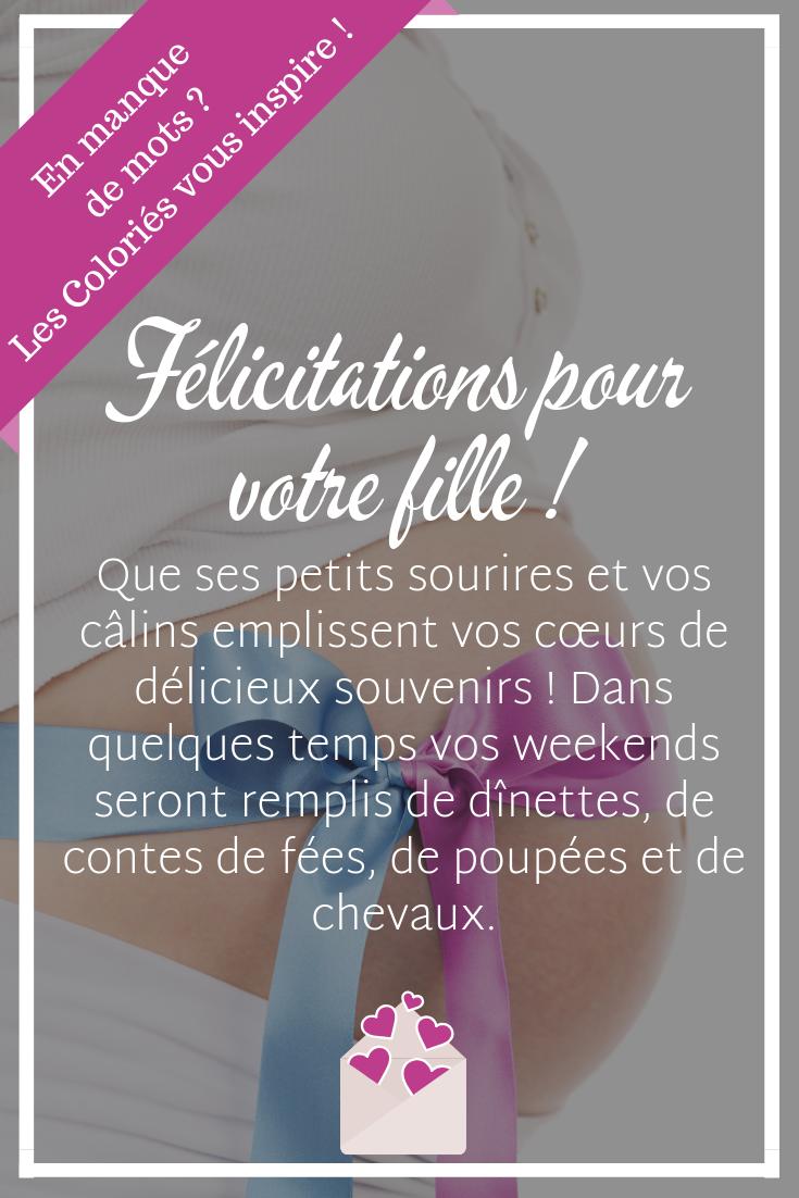 En Manque De Mots Les Colories Vous Inspire Texte Felicitation Naissance Message Felicitation Naissance Carte Felicitation Naissance
