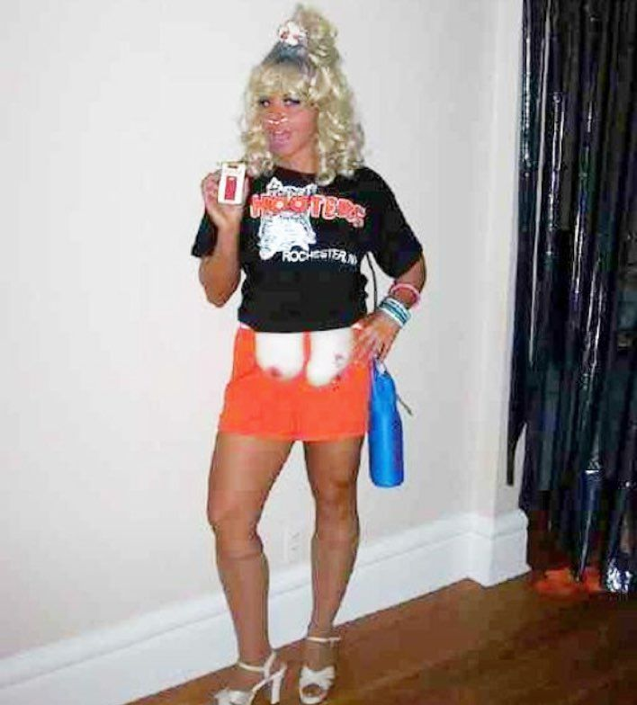 pin on retired hooters halloween costume