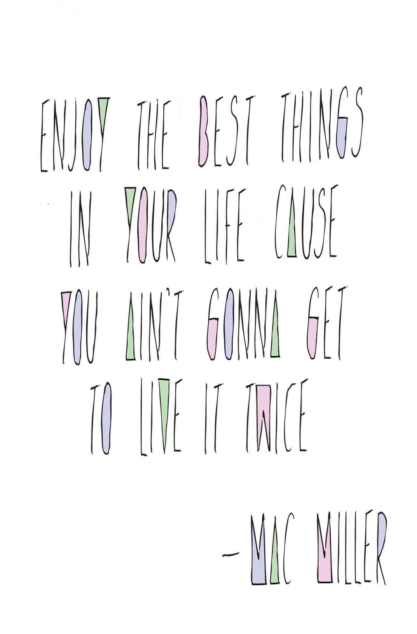 Mac Miller Quote #macmiller Mac Miller Quote #macmiller