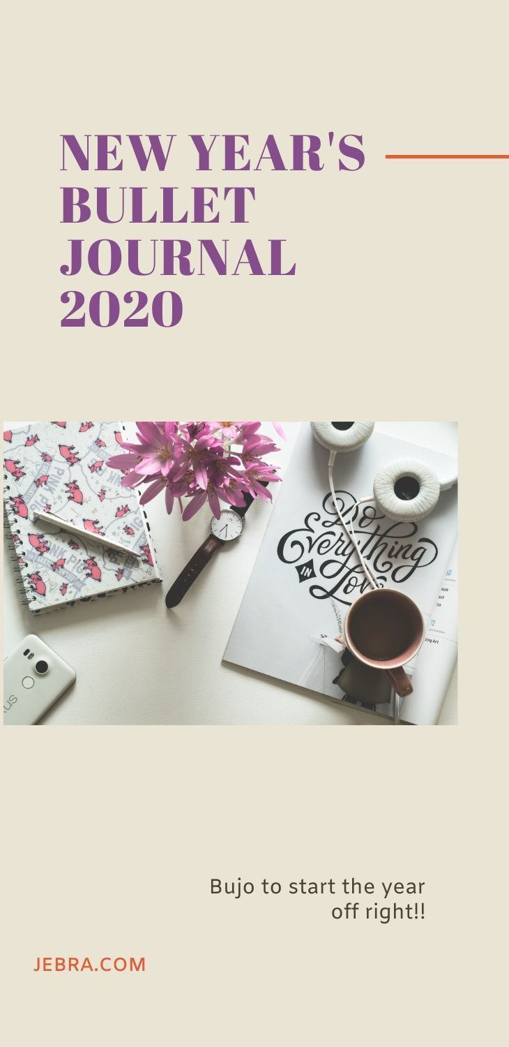 Bullet Journal for 2020: New Year's Writing Ideas
