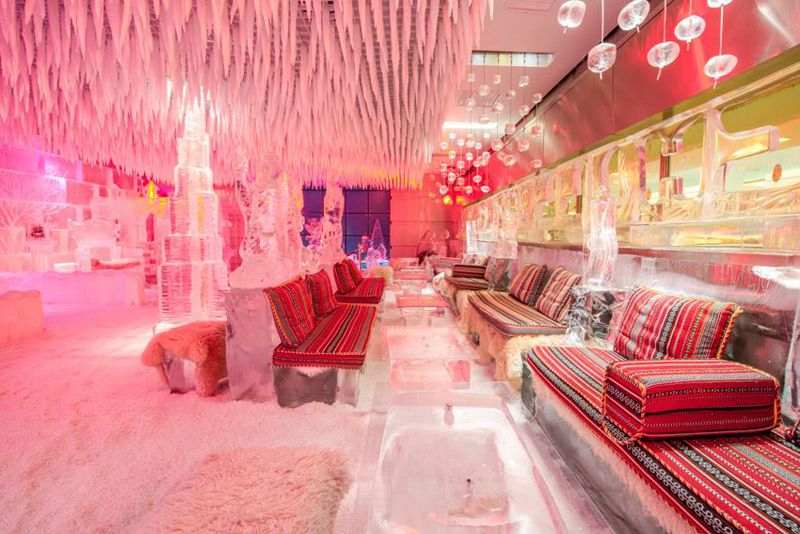 Imagine Drink A Cold Beer In These Cool Freezing Bars | AmzCow!