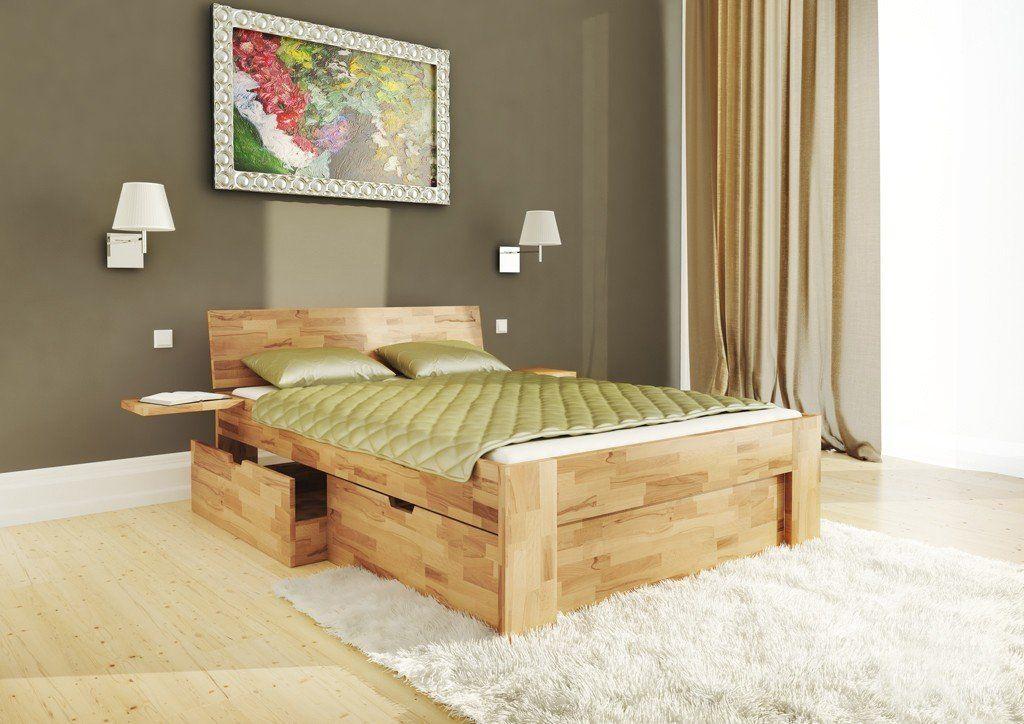 Kupiti Lizhko B111 V Magazini Mebliv Krokwood In 2020 Bed Frame With Storage Storage Bed Diy Storage Bed