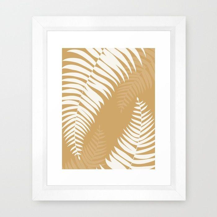 GOLDTROPIC Framed Art Print