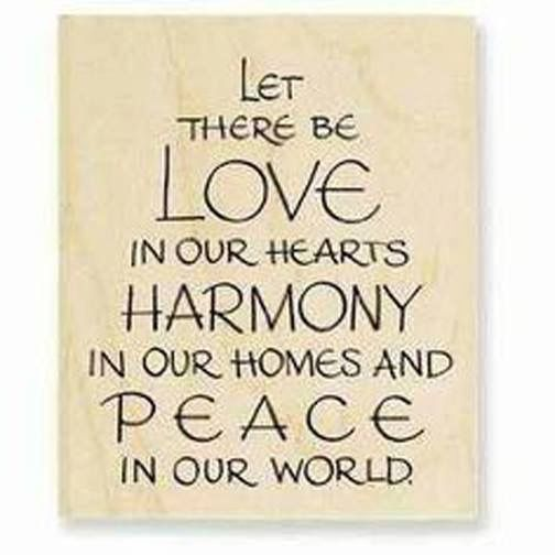 Love Harmony And Peace Universal Prayer Inspirational Quotes Prayers