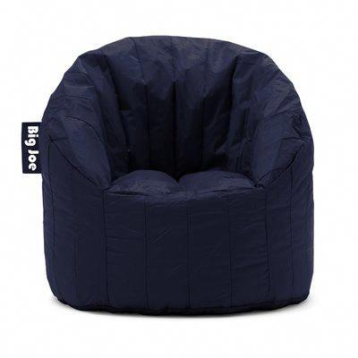 mushroom bean bag chair fishing carry strap comfort research big joe upholstery blue sapphire bagchairs