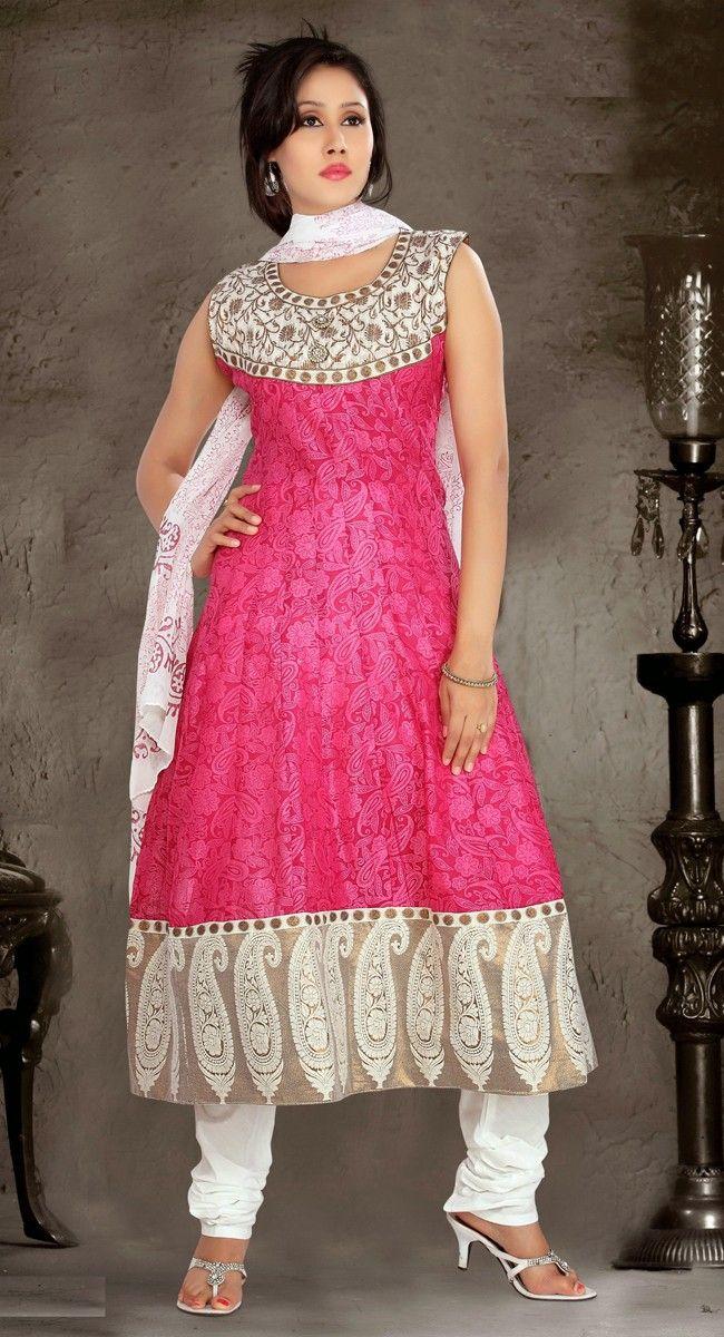 Pink color Party Wear Rmd Salwar-Silk #SalwarKameez   Fancy Salwar ...