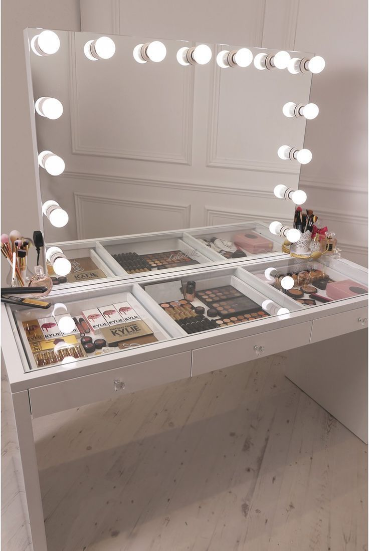 Photo of Mirrored Make Up Frisiertisch – Mirrored Makeup … – #Dressing #makeup #Mirro