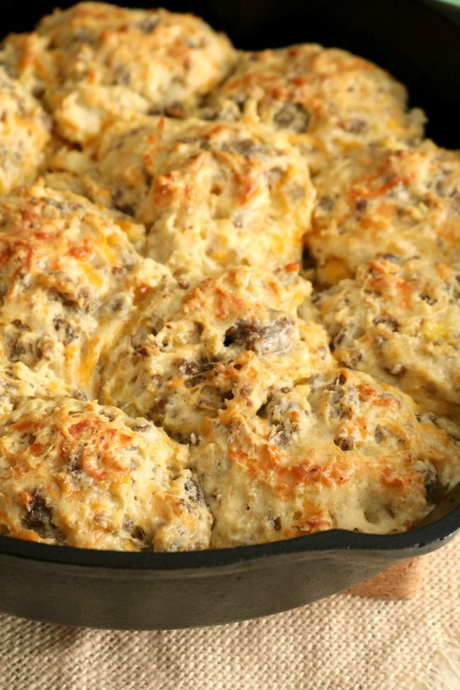 loaded breakfast biscuits recipe with images breakfast biscuits recipes cooking recipes pinterest