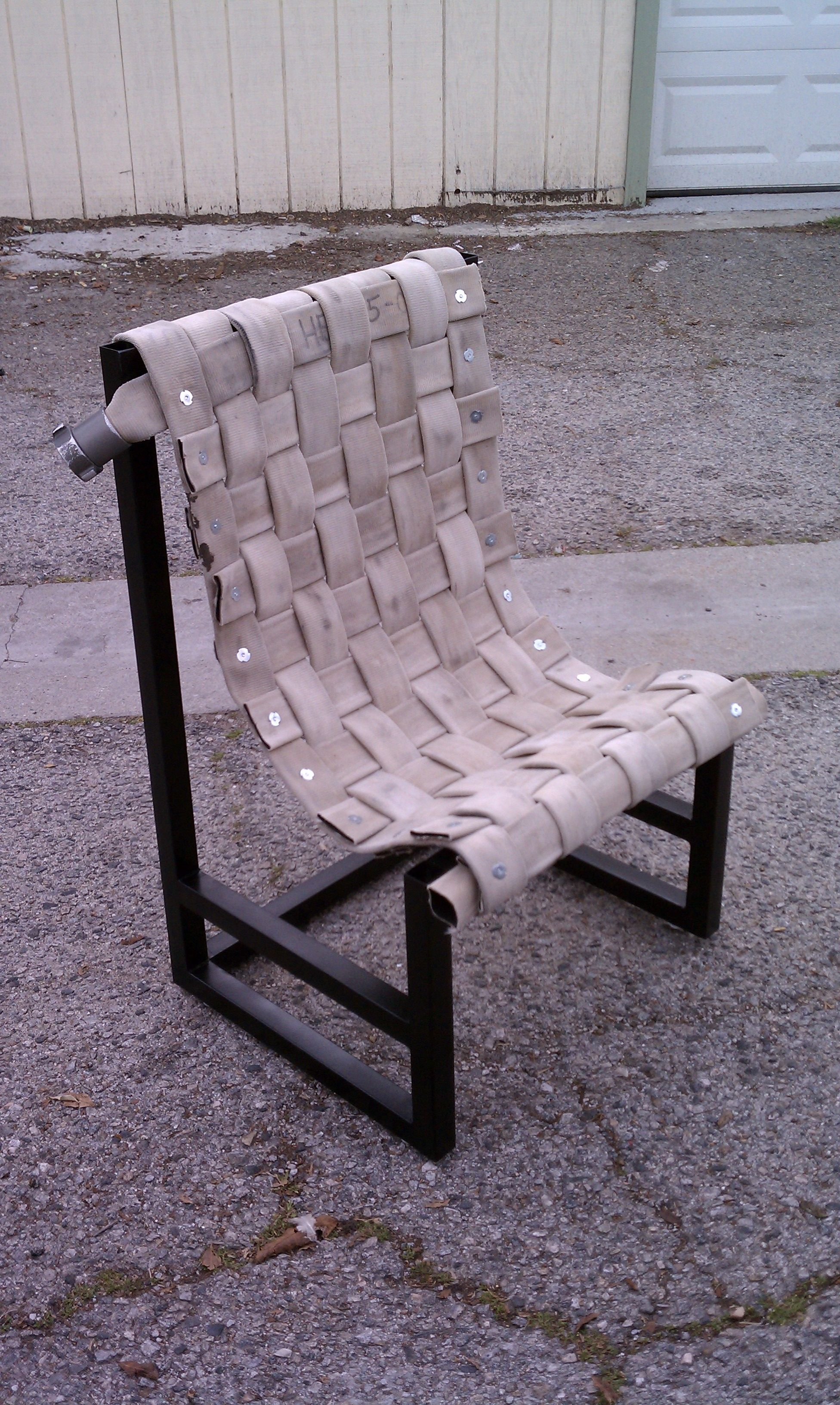 American Fire Hose And Cabinet Made From Fire Hose My Work Pinterest Chairs Lion And