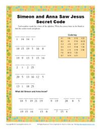 simeon and anna meet jesus activity