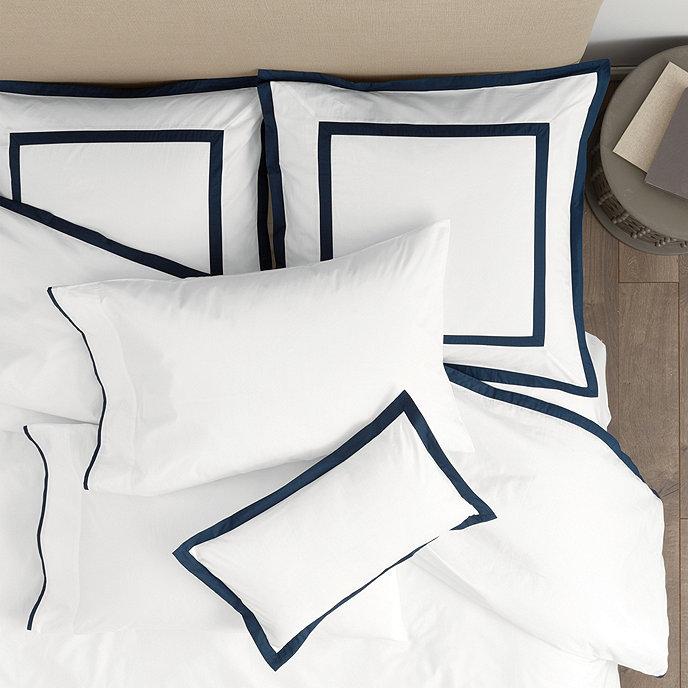 Suzanne Kasler Positano Bedding Luxury bedding master