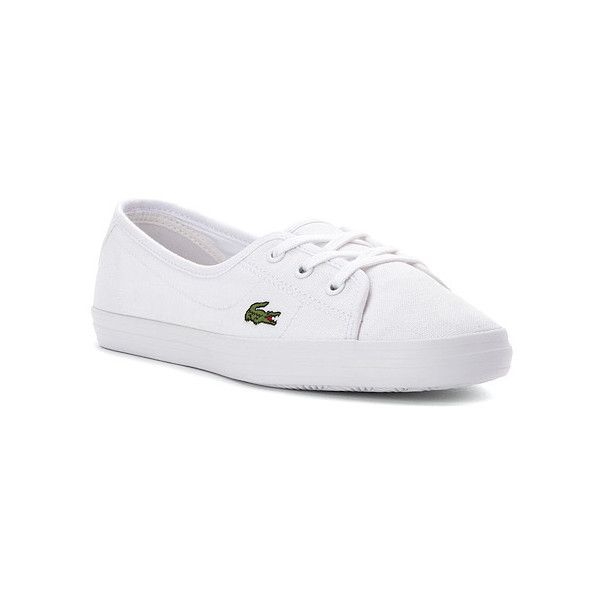Lacoste Zaine Chunky LCR Sneaker (105 NZD) ❤ liked on Polyvore featuring  shoes,