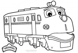 Chuggington Wilson Coloring Pages | Toddler activities ...