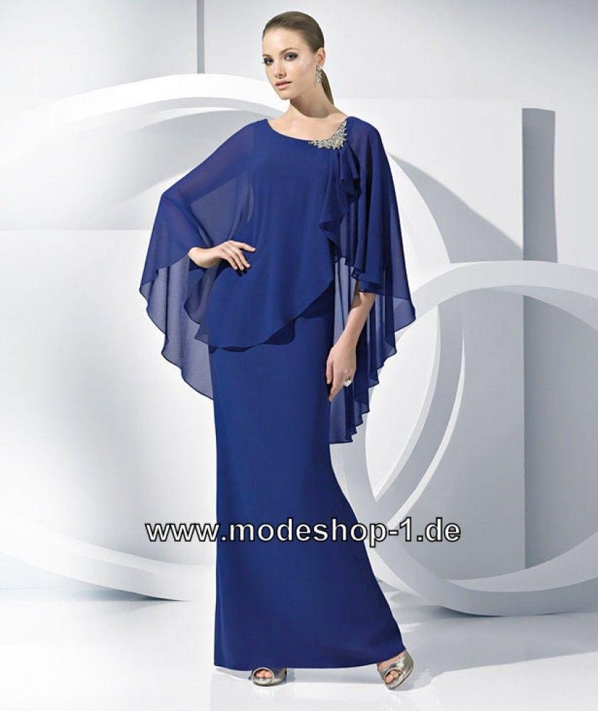Festliches Abendkleid Abendmode in Blau  Tolle kleider, Kleider