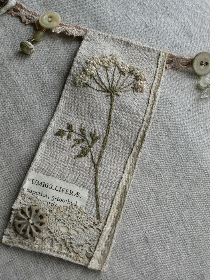 Embroidery stickerei und applikationen pinterest mixed media medium and garlands - Stickerei applikationen ...