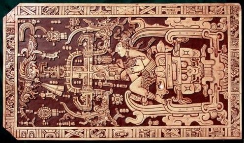 Sarcophagus lid of Pakal the Great