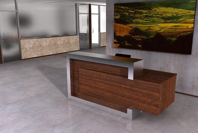 Shreveport Modern Receptionist Desk Modern Reception Desk Custom Reception Desk Reception Desk