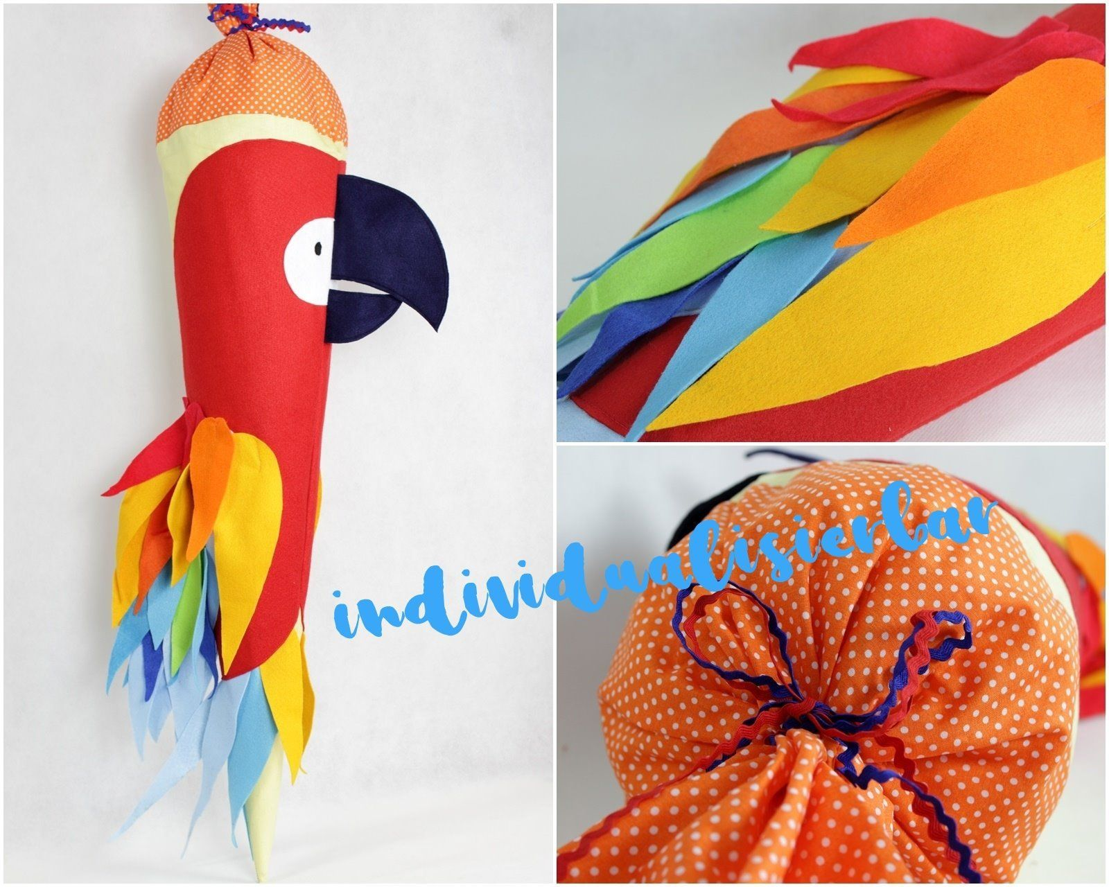Sugar Bag Parrot School Bag Parrot Schooling Start Of School
