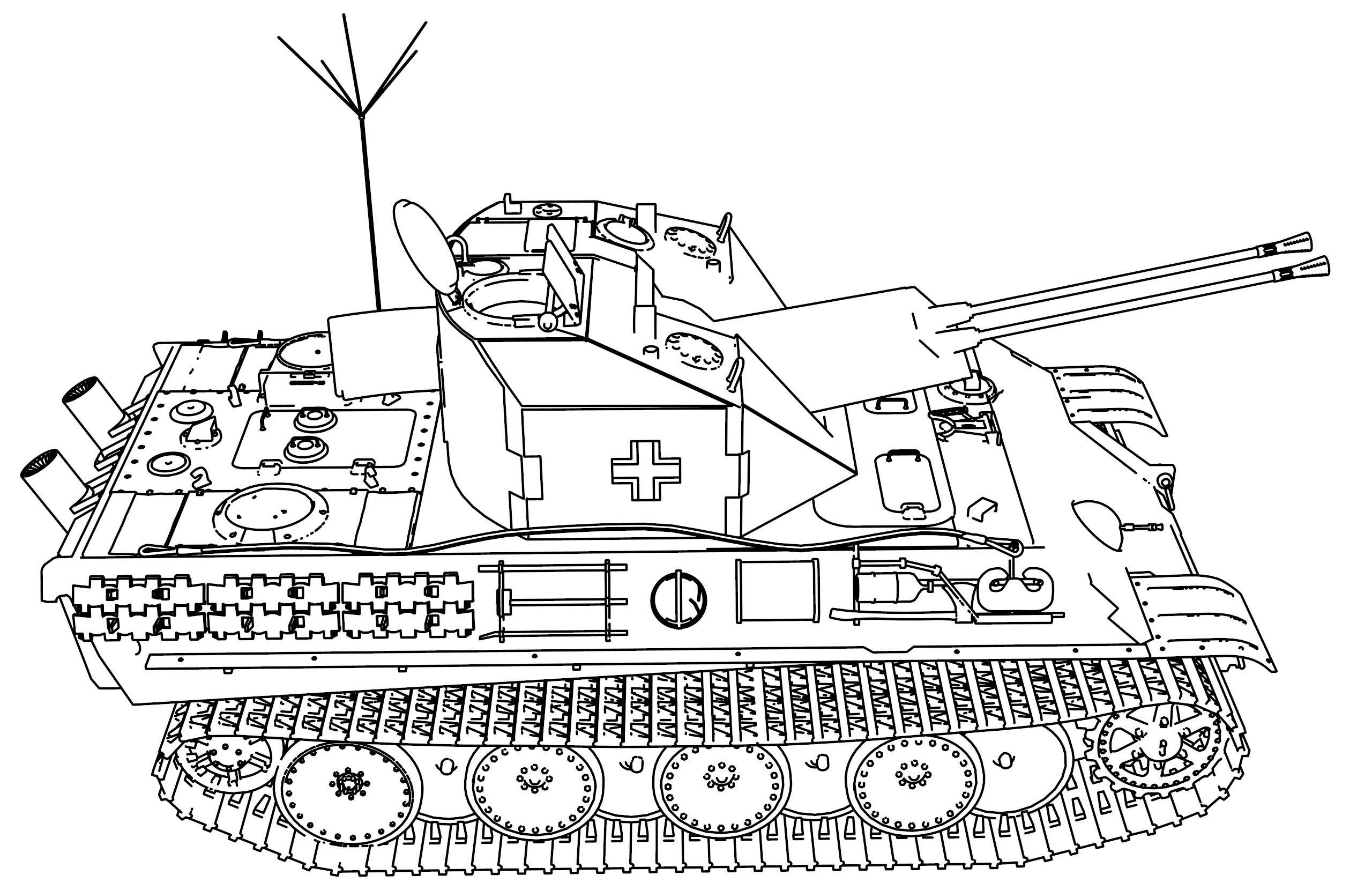 Panzer Coelian Military Tank Coloring Page Wecoloringpage Com Coloring Pages Truck Coloring Pages Tanks Military