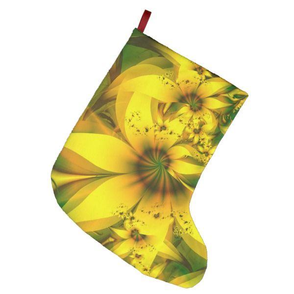 Beautiful Yellow-Green Meadow of Daffodil Flowers Large Christmas