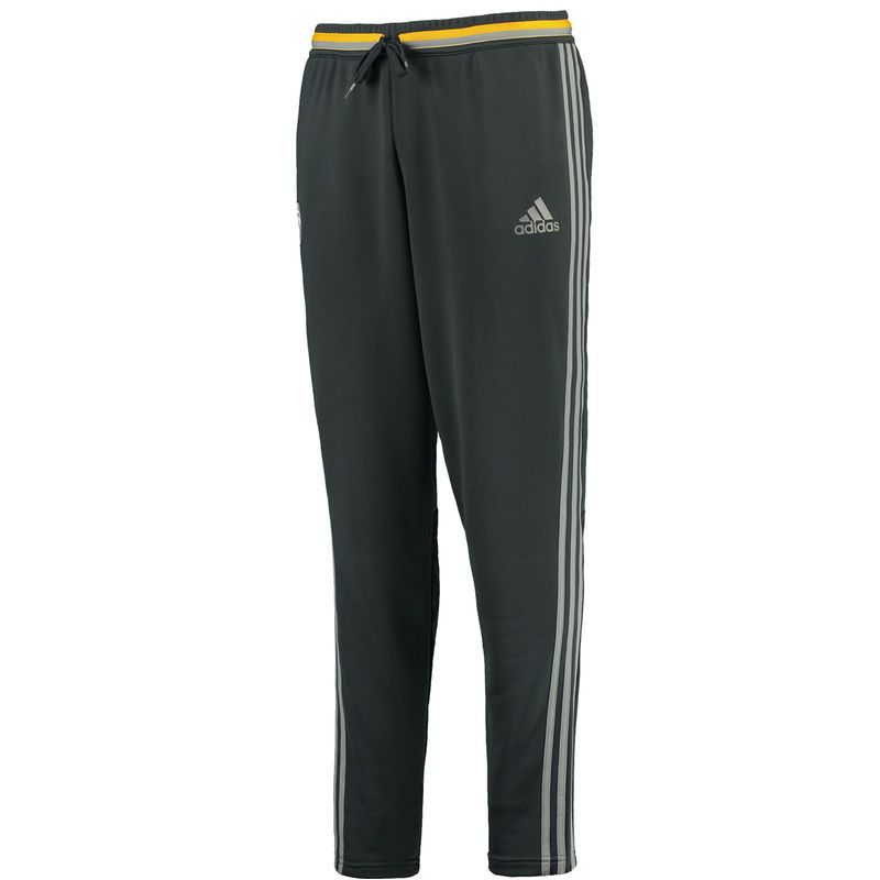 Juventus adidas 2016/17 climacool Training Pants - Gray/Gold