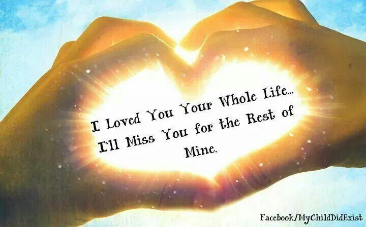 Miss you, my children!