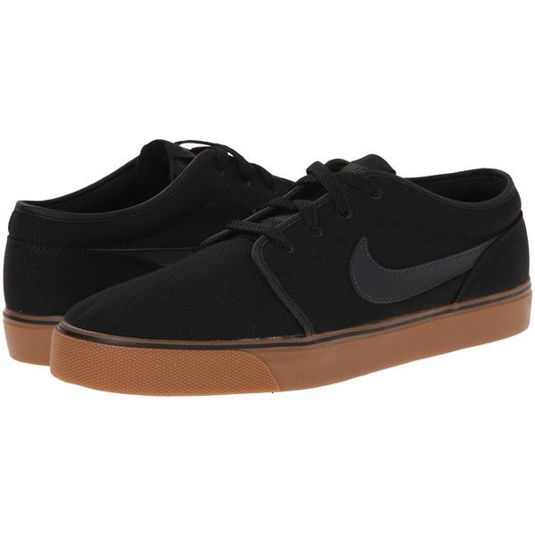 Nike Toki Textile  Low BlackGum Medium BrownAnthracite Mens