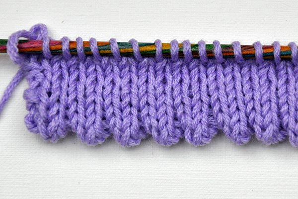 Photo of Open stitch stitch & mouse teeth